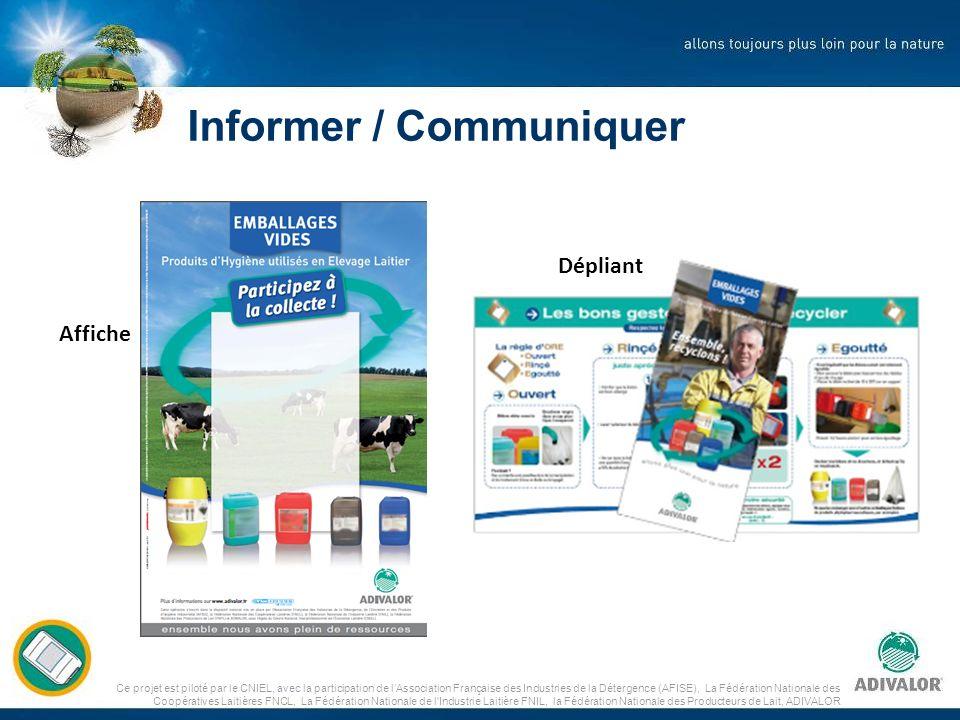 Informer / Communiquer Affiche Dépliant