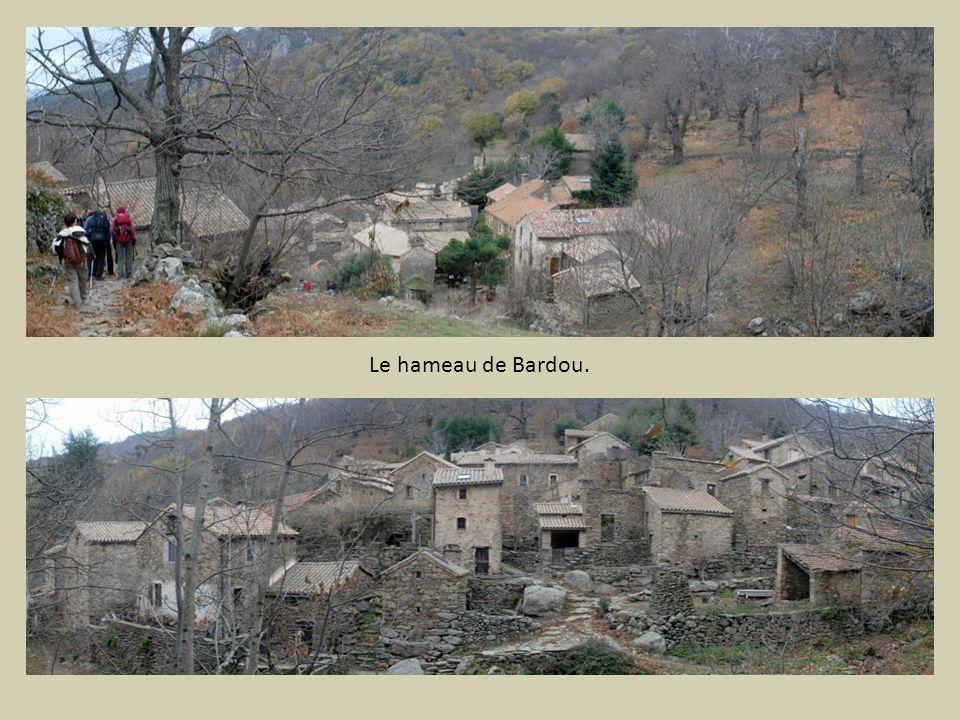 Le hameau de Bardou.