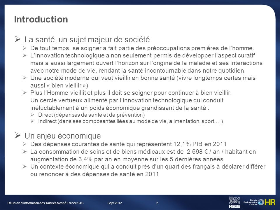 Introduction La santé, un sujet majeur de société De tout temps, se soigner a fait partie des préoccupations premières de lhomme. Linnovation technolo