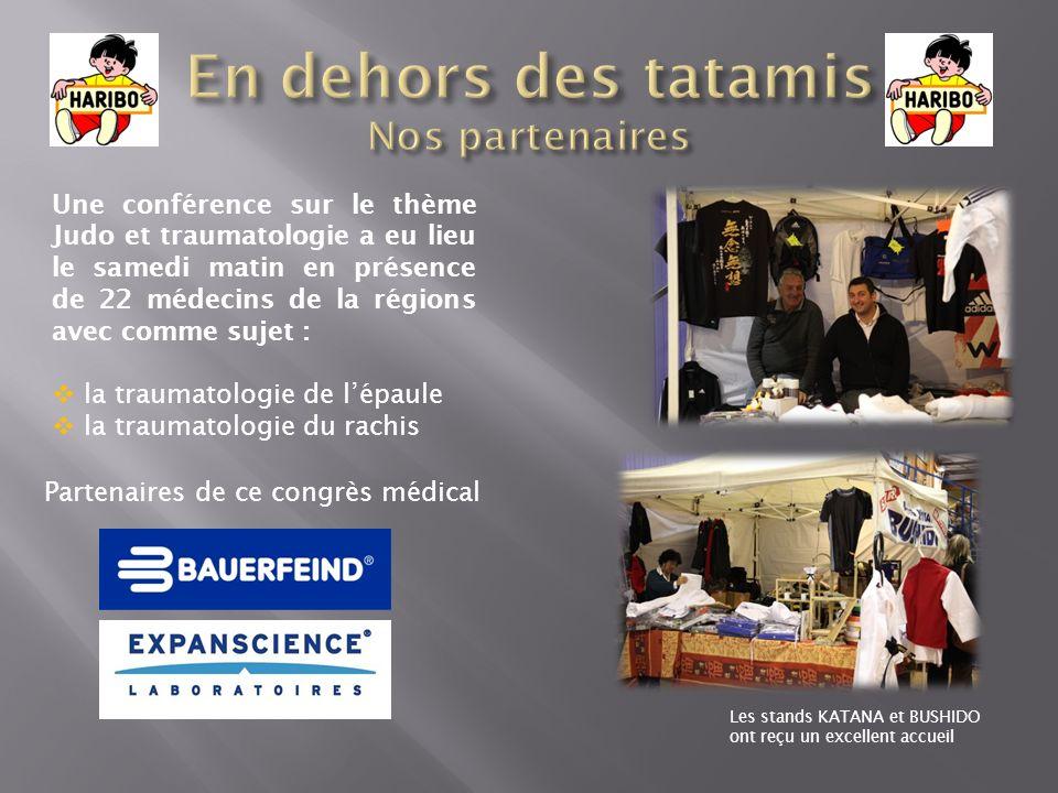 Une conférence sur le thème Judo et traumatologie a eu lieu le samedi matin en présence de 22 médecins de la régions avec comme sujet : la traumatolog