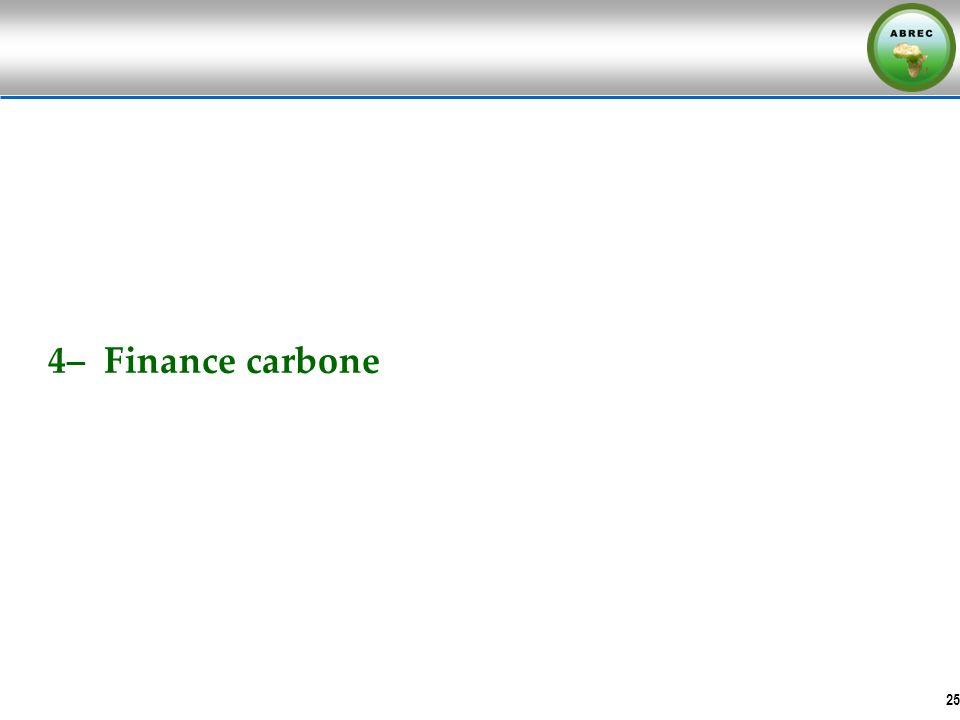 4– Finance carbone 25