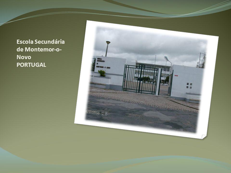 Escola Secundária de Montemor-o- Novo PORTUGAL