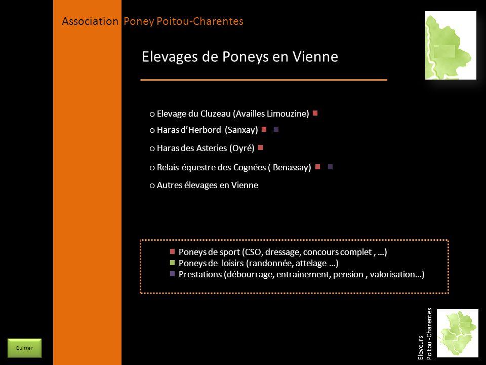 APPC Présidente Lynda JOURDAIN La Gravière 79400 AUGE 06 27 34 23 78 Association Poney Poitou-Charentes Elevages de Poneys en Vienne o Haras dHerbord