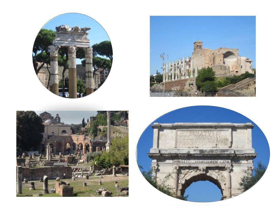 … via le Forum romain …