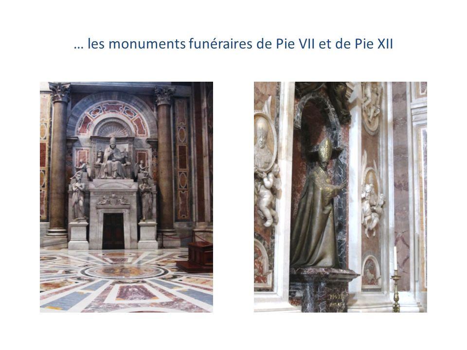 Le tombeau du pape Alexandre VII et … …