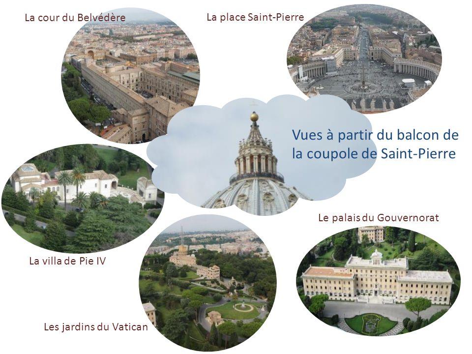 … la chapelle Clémentine, endroit le plus proche de la tombe de Saint-Pierre