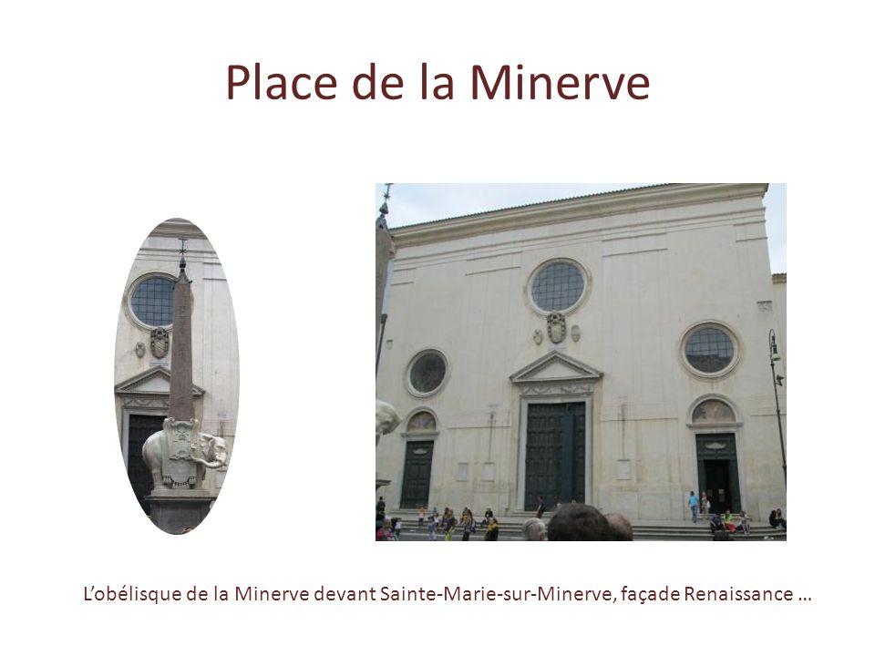 Gigantesque coupole percée d'un oculus, seule source de lumière de l'édifice. La tombe du peintre Raphaël et la Madone du Caillou La tombe de Victor-