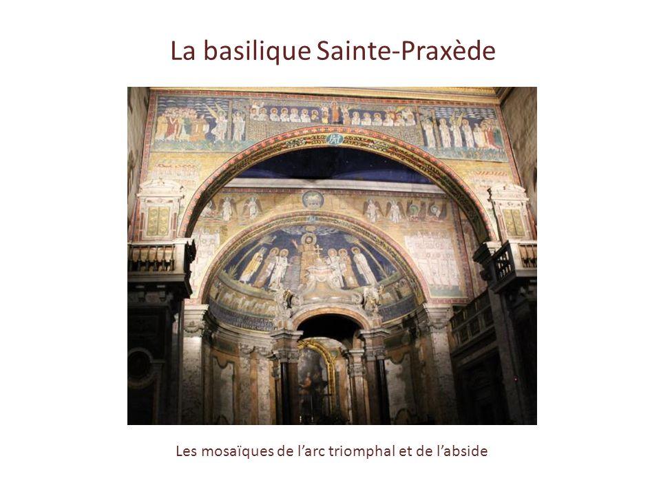 Visites * La Basilique Sainte-Praxède * La Basilique Sainte-Marie-Majeure Déjeuner chez les Sœurs de Sainte-Anne Balade vers le Transtévère, messe à S