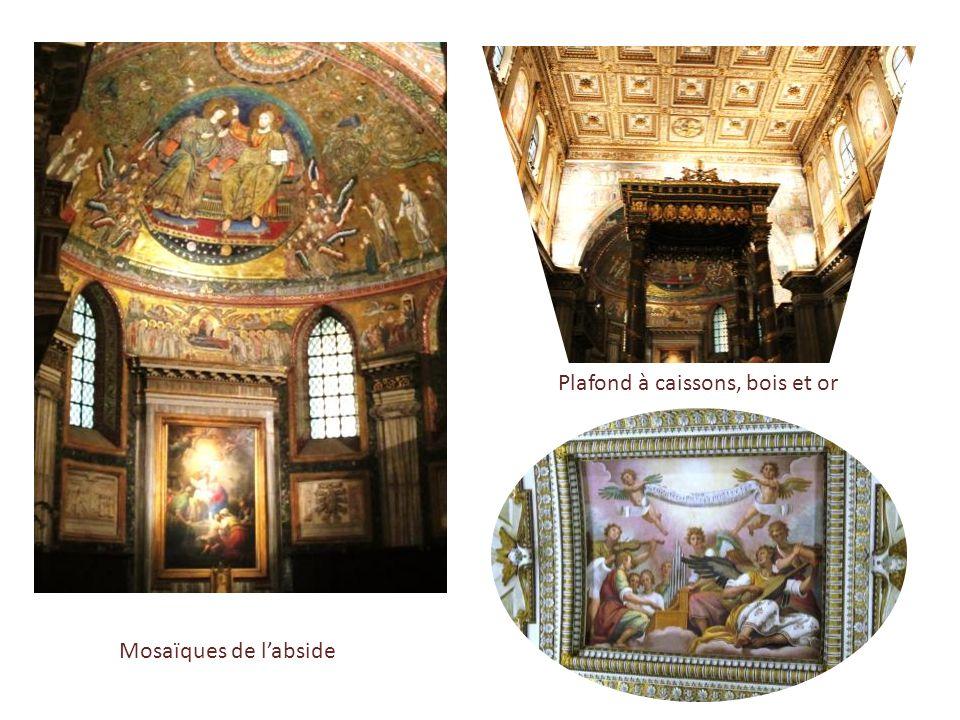 Basilique Sainte-Marie-Majeure … avec le plus haut campanile de Rome