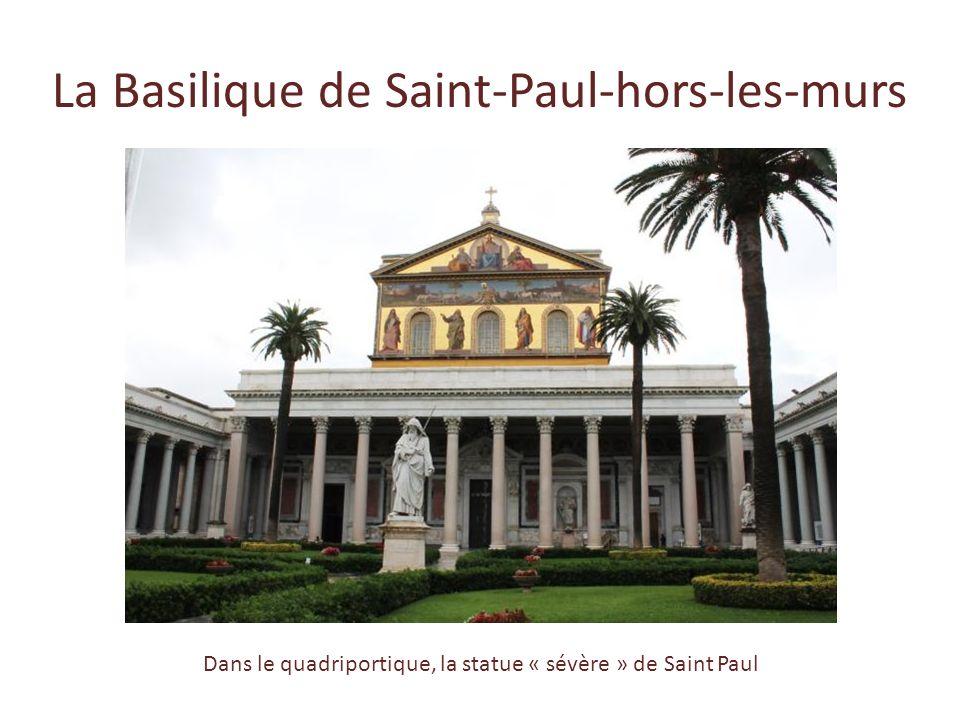 Visites * Les Catacombes de Saint-Calixte * La Basilique de Saint-Paul-hors-les-murs Minibus vers Fiumicino