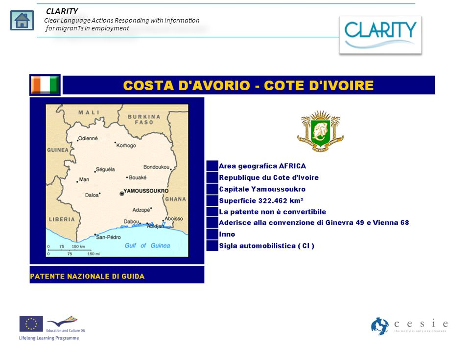 CLARITY Clear Language Actions Responding with Information for migranTs in employment