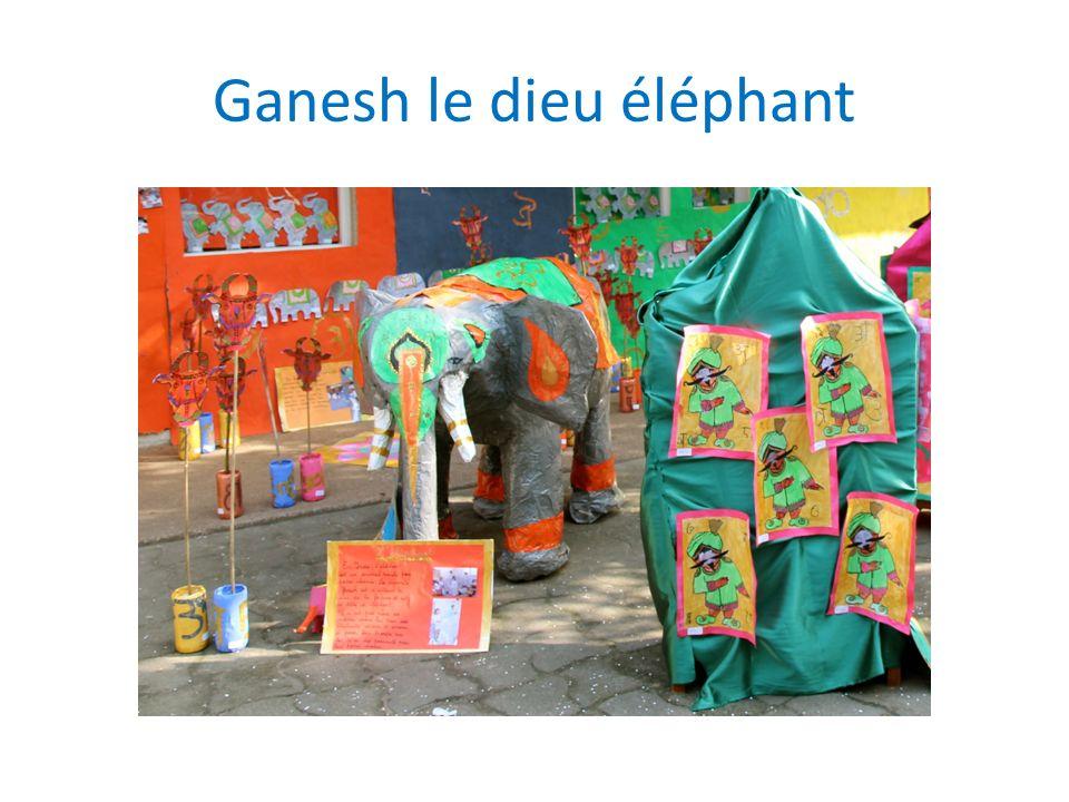 Ganesh le dieu éléphant