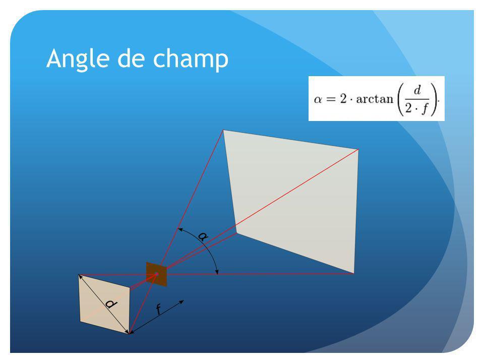 Angle de champ