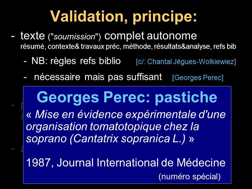 Publications: raccourcis dangereux Fleischmann et Pons: fusion froide -1989, Financial times + publi.