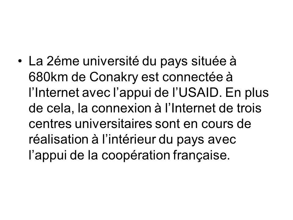 Luniversité de Conakry est en partenariat avec plusieurs universités de par le monde.