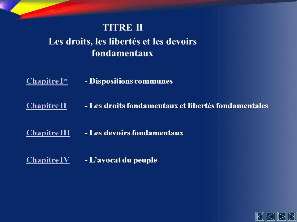 La mise en accusation Article 95 1 (1) La Chambre des Députés et le Sénat, réunis en séance commune, peuvent décider, à la voix d au moins deux tiers du nombre des députés et des sénateurs, de mettre le Président de la Roumanie en accusation pour haute trahison.