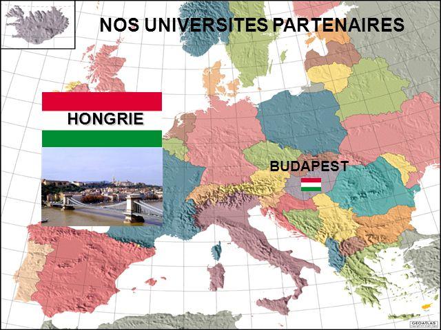 HONGRIE NOS UNIVERSITES PARTENAIRES BUDAPEST