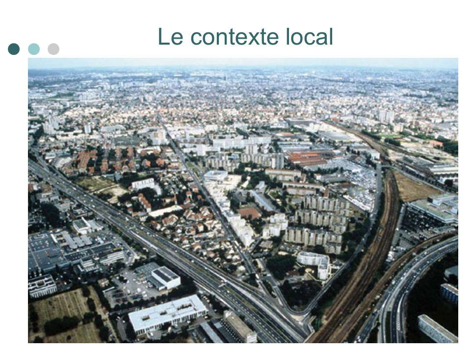 Le contexte local Paris et sa petite couronne Nanterre