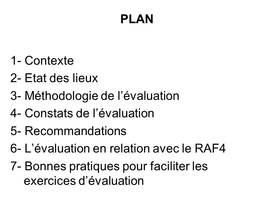 Lévaluation préliminaire du portefeuille de projets du FEM au Maroc entre dans le cadre des dispositions prises pour la lapplication du CAR4, dont: - Organisation du 1er Dialogue National en mars 2006.