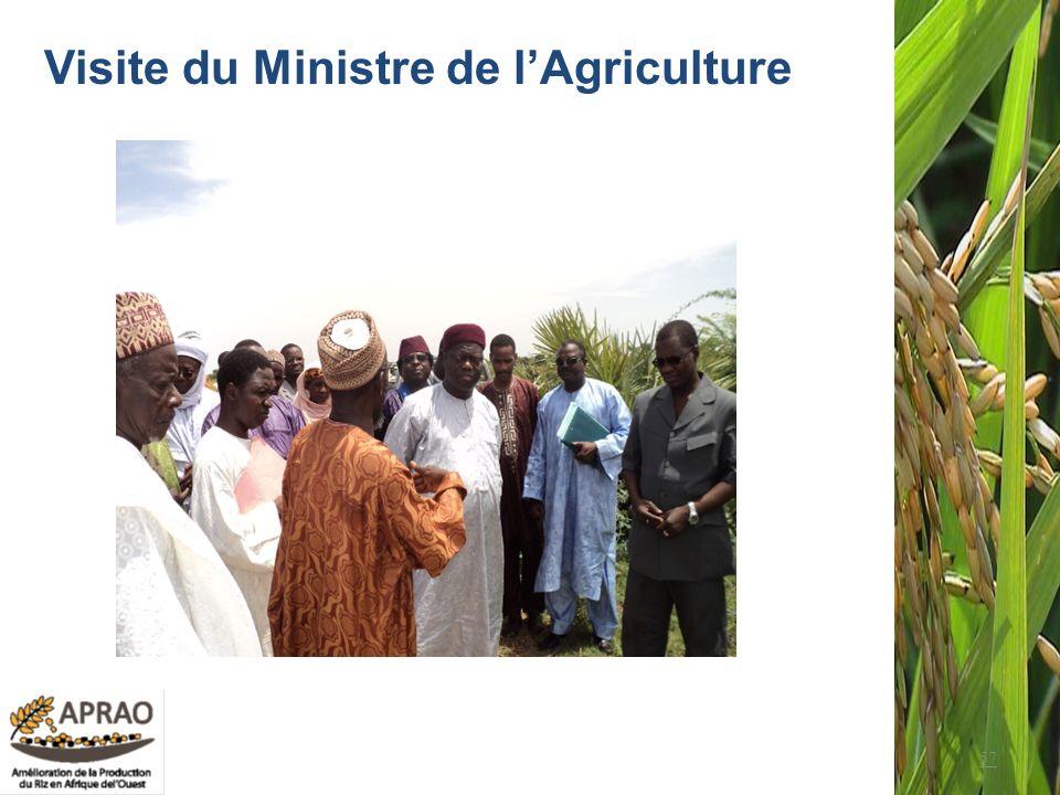 57 Visite du Ministre de lAgriculture