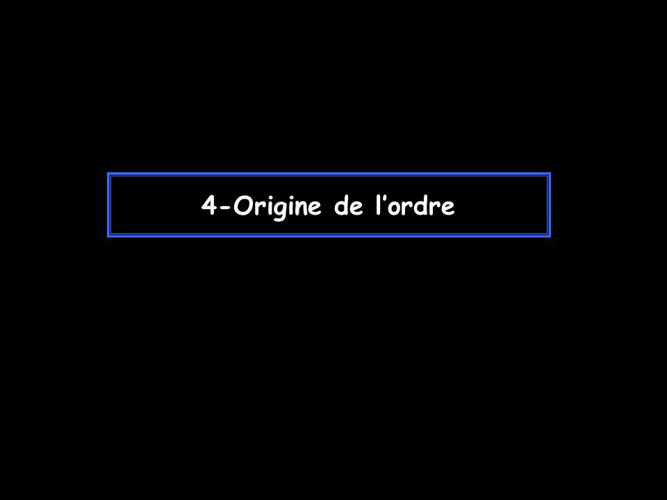 4-Origine de lordre