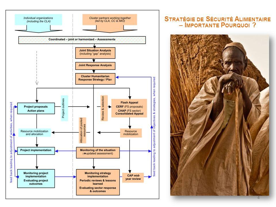 Food Security Strategy S TRATÉGIE DE S ÉCURITÉ A LIMENTAIRE – I MPORTANTE P OURQUOI ? 4