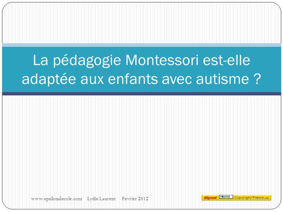 La pédagogie Montessori est-elle adaptée aux enfants avec autisme .