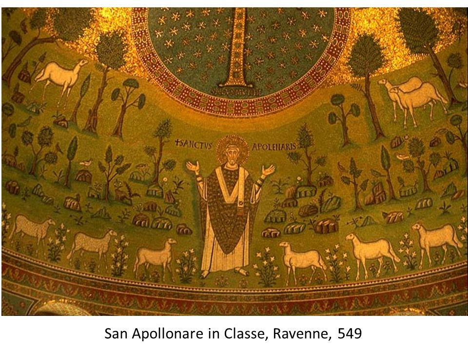 San Apollonare in Classe, Ravenne, 549