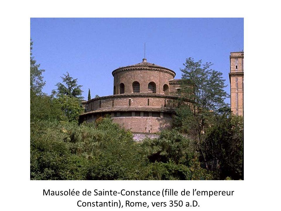 Mini test Vous êtes larchitecte préféré de Constantin le Grand, qui vous charge dune mission importante: vous devez lui présenter le plan dune église chrétienne et de son baptistère.