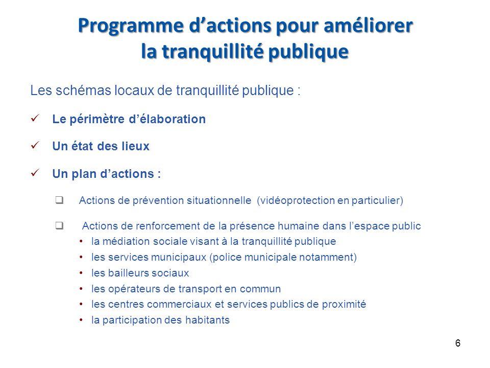 Modalités de mise en œuvre de la stratégie nationale de prévention de la délinquance La déclinaison départementale et locale Le financement de la stratégie nationale par le FIPD Des chantiers nationaux 7