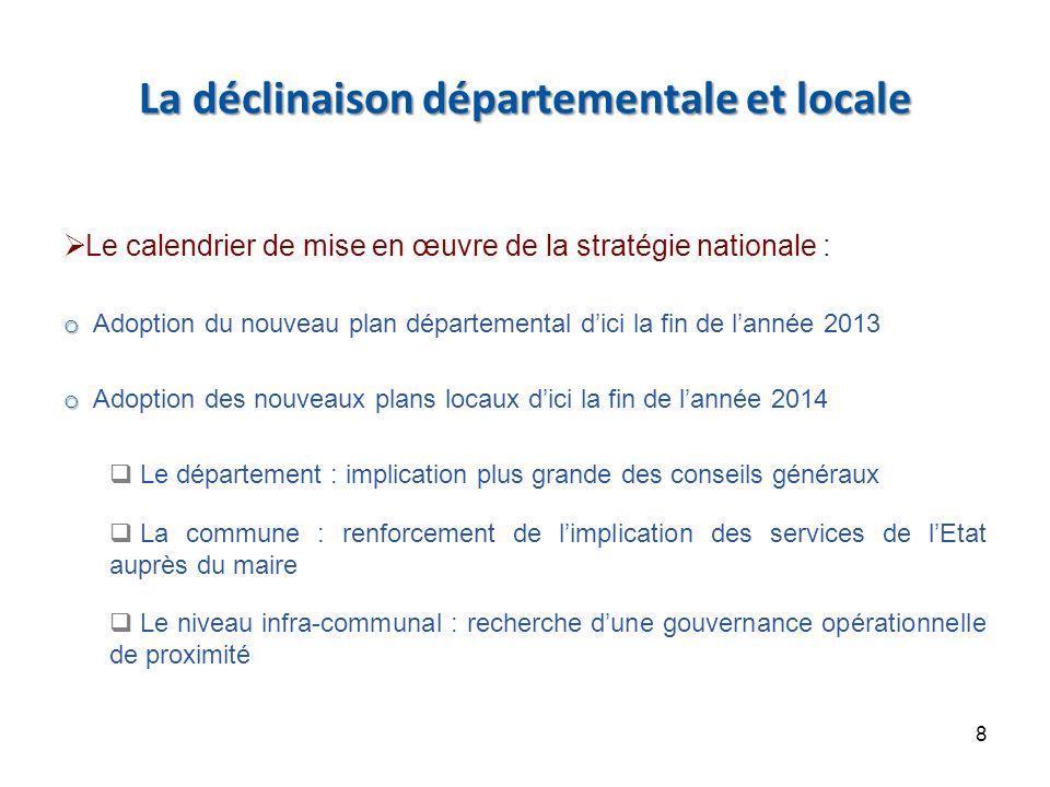 Schéma type de gouvernance locale de prévention de la délinquance pour la mise en œuvre de la stratégie nationale 9