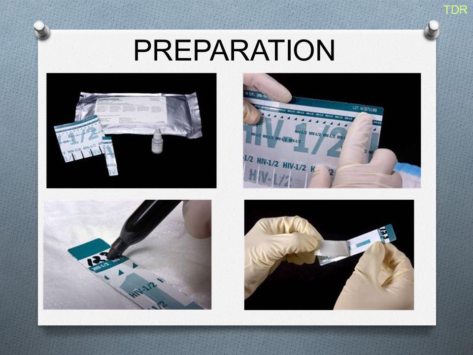 PREPARATION TDR