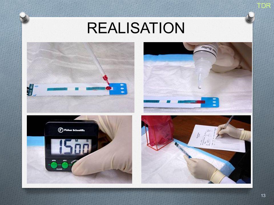 REALISATION 13 TDR