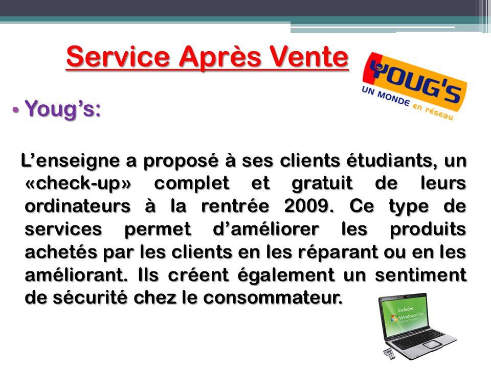 Service Après Vente Yougs: Yougs: Lenseigne a proposé à ses clients étudiants, un «check-up» complet et gratuit de leurs ordinateurs à la rentrée 2009