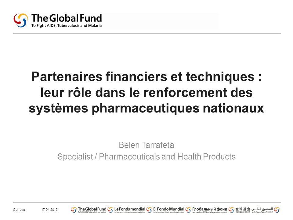 Types de partenariat technique concernant la gestion des produits de santé Niveau institutionnel.