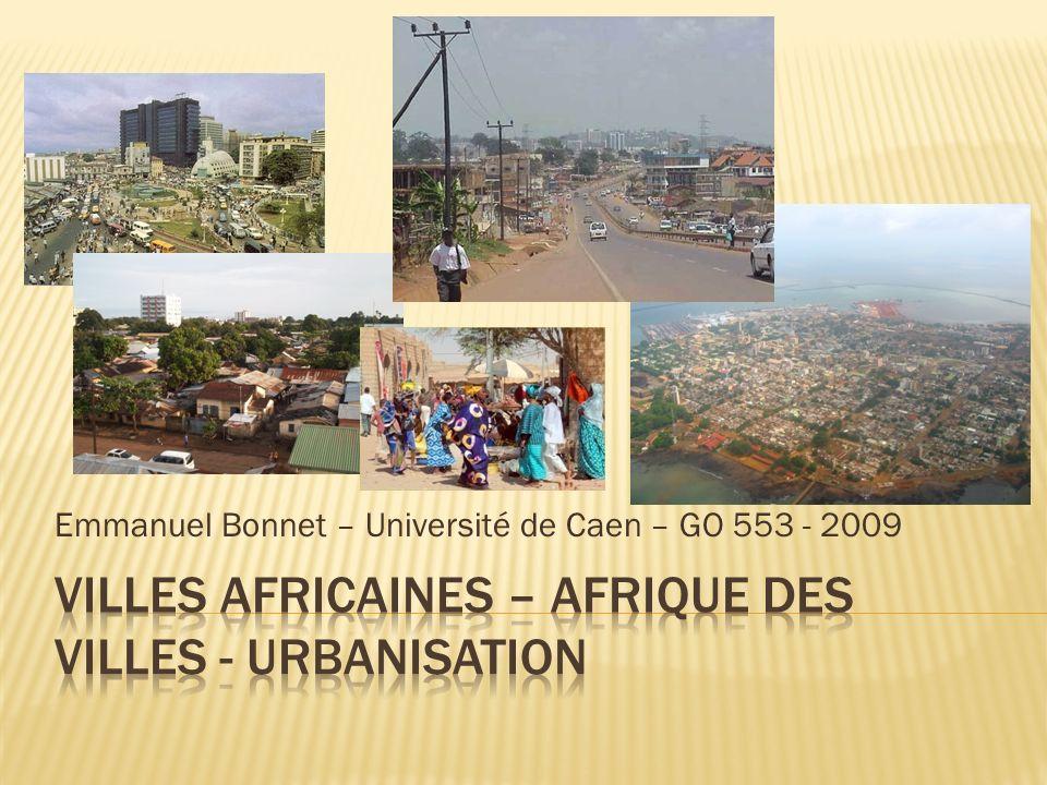 Emmanuel Bonnet – Université de Caen – GO 553 - 2009