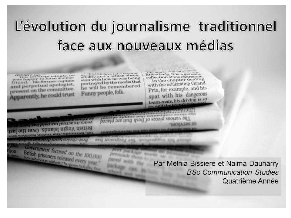 Par Melhia Bissière et Naima Dauharry BSc Communication Studies Quatrième Année