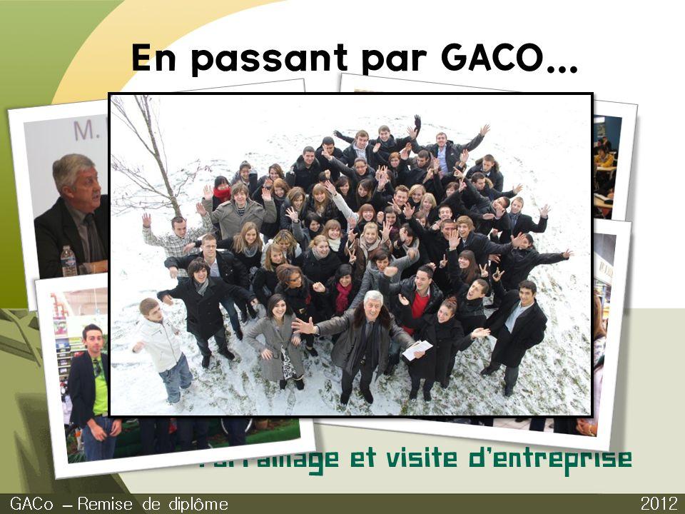 2012 GACo – Remise de diplôme Parrainage et visite dentreprise