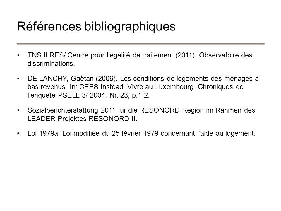 TNS ILRES/ Centre pour légalité de traitement (2011).