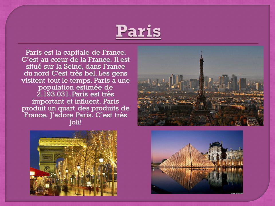 La température dans Paris est très agréable.