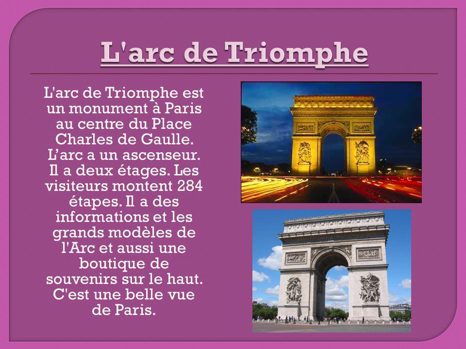 Champs-Élysées est une jolie avenue à Paris, France.