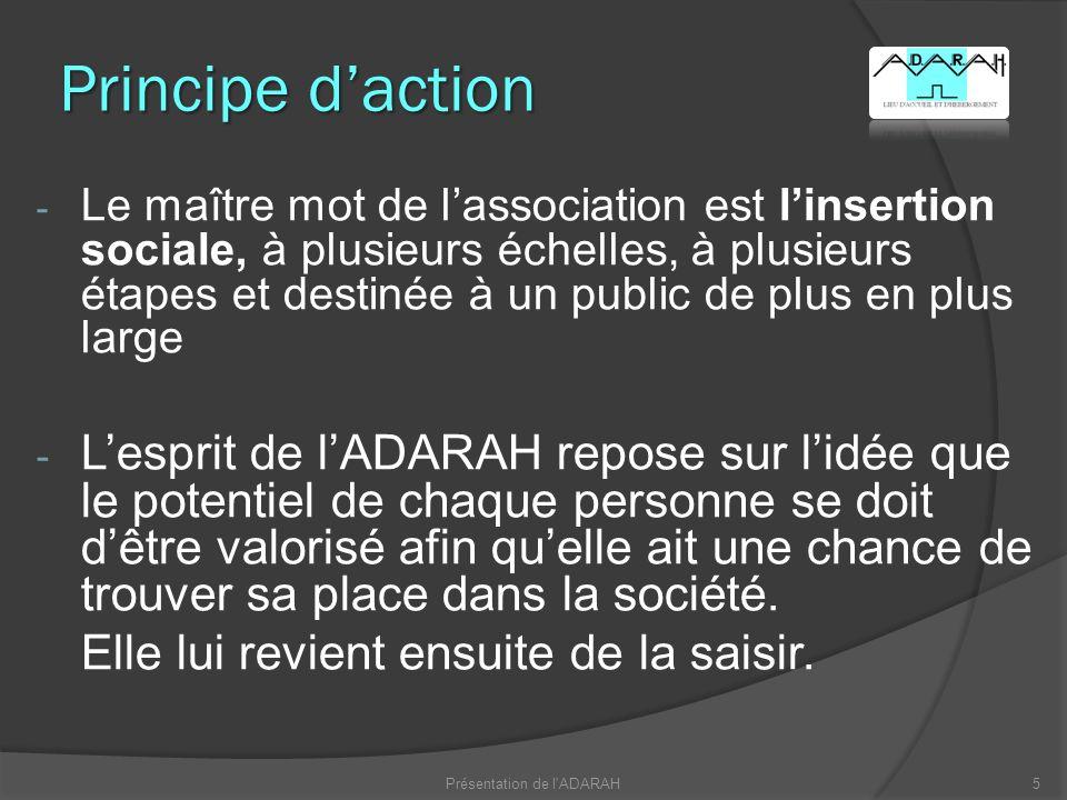 16Présentation de l ADARAH Merci de votre attention
