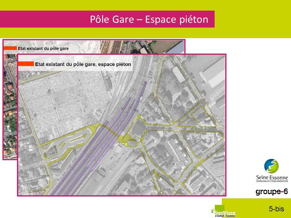 Pôle Gare – Espace piéton 5-bis