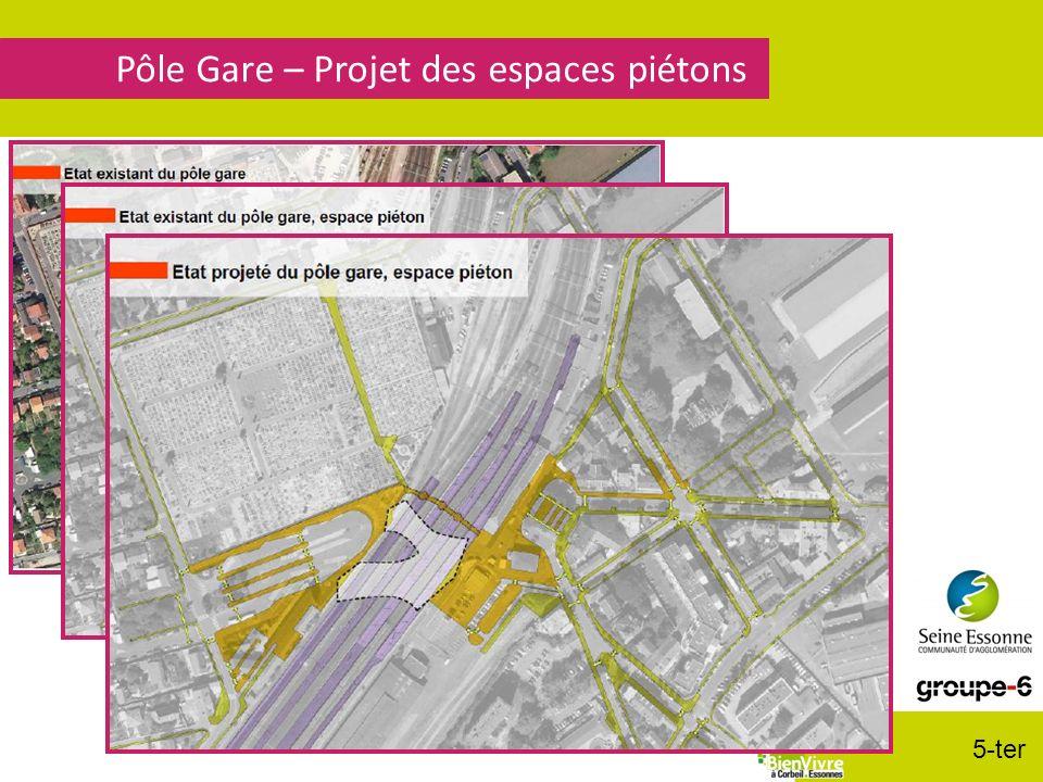 Pôle Gare – Projet des espaces piétons 5-ter