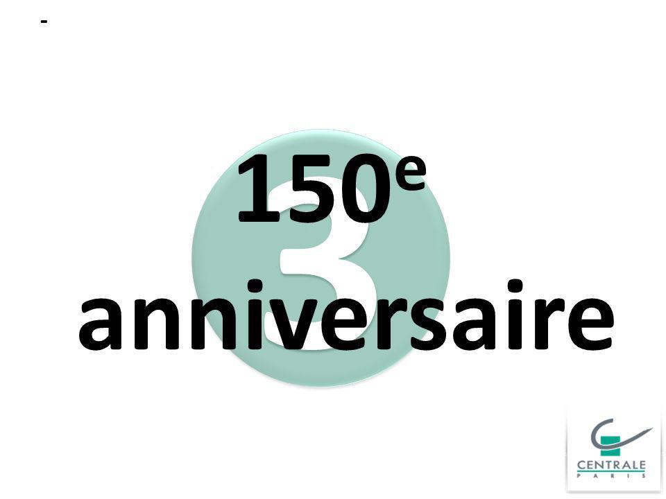 3 3 - 150 e anniversaire