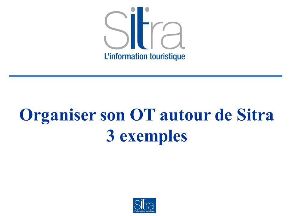Le Contexte OT de Saint Julien et du Genevois, Haute Savoie Structure de 3 salariés : 2 pleins temps 1 mi temps Tous les salariés utilisent Sitra pour la saisie, une personne pour lexploitation (export des données)
