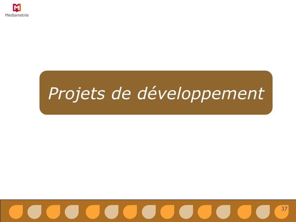 Projets de développement 37