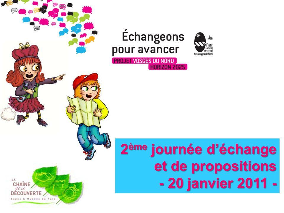 2 ème journée déchange et de propositions - 20 janvier 2011 - - 20 janvier 2011 -