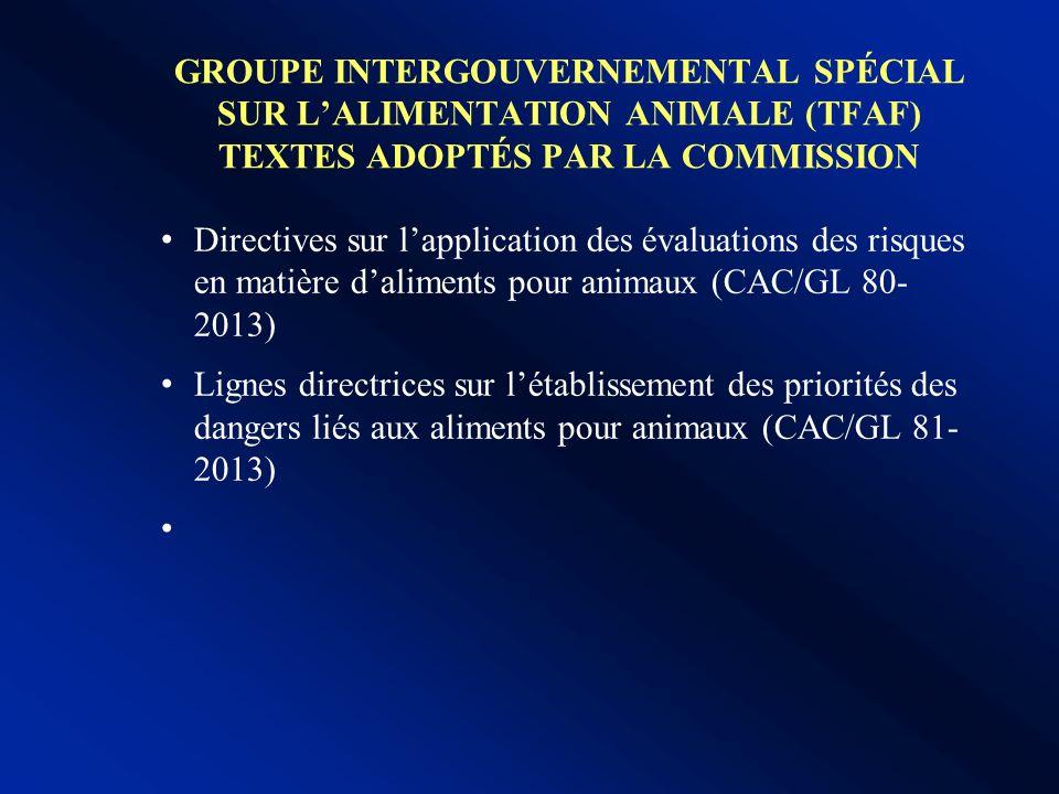 Comité sur lhygiène alimentaire: travaux en cours Annexe sur les aspects statistiques et mathématiques des Principes et directives pour l'établissemen