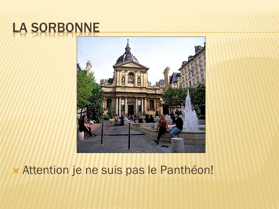 Attention je ne suis pas le Panthéon!